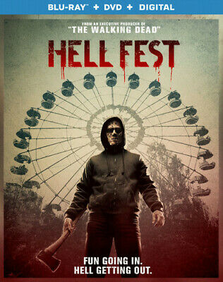 Hell Fest [New Blu-ray] With DVD, 2 Pack
