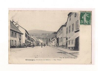 Giromagny - Rue Thiers.
