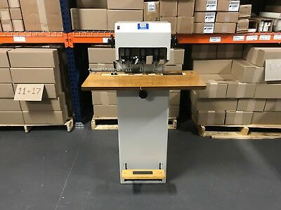 Lassco FMM-1R / FMM-3 Three Spindle Paper Drill - Serviced & Tested