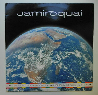 "★★12"" Uk**jamiroquai - Emergency On Planet Earth (Sony Soho Square '93)★★14532"
