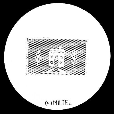 Miltel Festive House Size A Metal Gobo ( 100mm ) Unknown Code