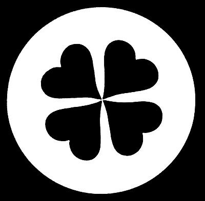 RB Shamrock / Clover Size A Metal Gobo ( 100mm ) Unknown Code