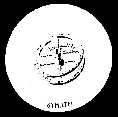 Miltel Space station Size A Metal Gobo ( 100mm )  unknown Code