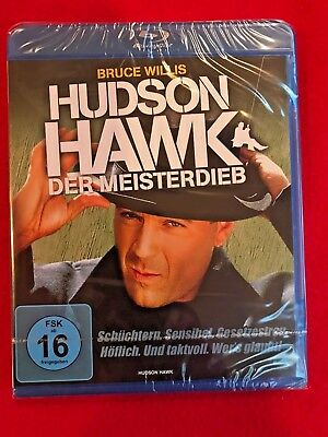 HUDSON HAWK Blu-ray Import Region-free Bruce Willis NEW SEALED