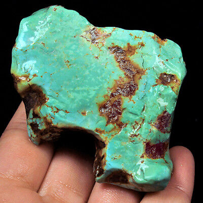 409.65Ct BISBEE Turquoise Rough Unstabilized High Hardness 100% Natural UYSS1033