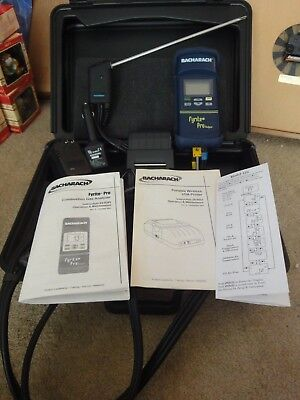 Bacharach Fyrite Pro, Combustion Gas Analyzer, Model 125. New/NOS, with printer!