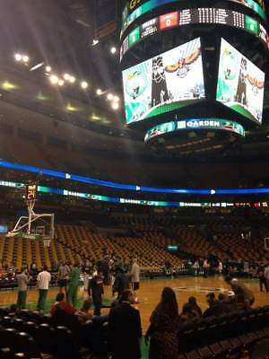 2 Loge Corner Tickets Boston Celtics vs Golden State Warriors 1/26