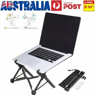 AU NEXSTAND Adjustable Portable Foldable Laptop Notebook Desk Stand Mount Holder
