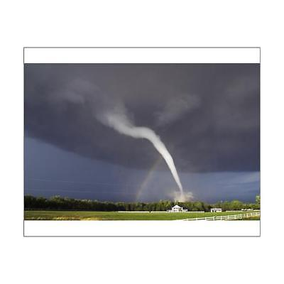 "10""x8"" (25x20cm) Print of Tornado from"