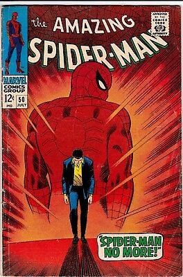 Amazing Spider-Man #50 1st Appearance of the Kingpin GD-VG