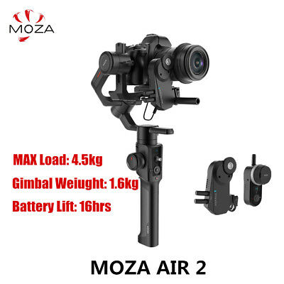 MOZA Air 2 3 Axis Stabilizer DSLR Handheld Gimbal Wireless follow focus 4.2KG