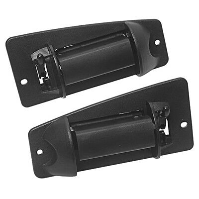 Pair Left+Right Extended Cab Door Handle Fits For 99-07 Chevy Silverado GMC Part