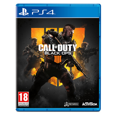 Activision Blizzard 88225IT PS4 Call of Duty: Black Ops 4