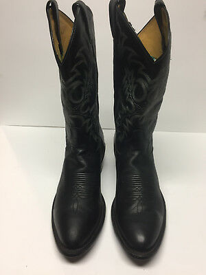 e9d0c5ddeb2 BOOTS TONY LAMA Men Cowboy All Leather Segar Black 1 Western #7900 US 10D