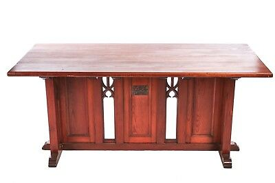Victorian Gothic pitch pine Altar table