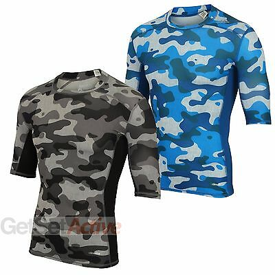 adidas Mens TechFit Base climalite Compression Top Baselayer T-shirt Gym Tee