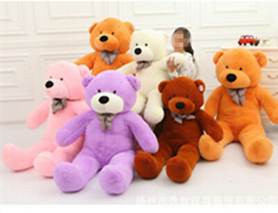 lovely Large Teddy Bear 60/100/120/140cm Giant Teddy Bears Big Soft Plush Toys**