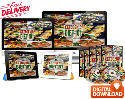 Ketogenic Diet 101 digital book & videos – Healthy lifestyle & lose weight Guide