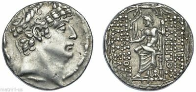 Philip I 98-83 Tetradrachm Greek Coin sliver Ancient Seleucid Kingdom 98-83BC
