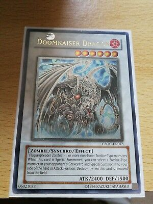 DOOMKAISER DRAGON CSOC-EN043 Ultimate Rare