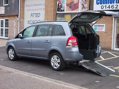 Vauxhall/Opel Zafira 1.8i 16v VVT Exclusiv WHEELCHAIR ACCESS VEHICLE