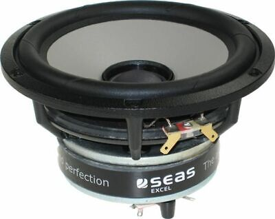 """Seas Excel C16N001/F - E0051-04/06-6 5"""" Magnesium Cone Coaxial Woofer"""