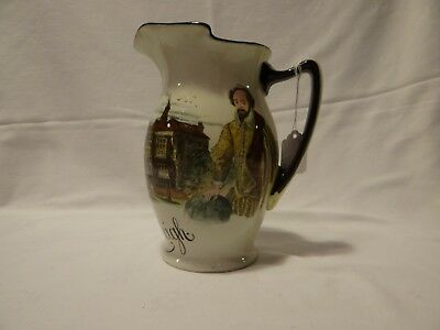 Royal Doulton antique pitcher Raleigh Earl of Essex D2704