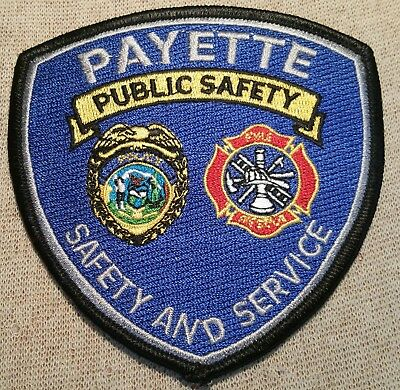 ID Payette Idaho Police/Fire Public Safety Patch