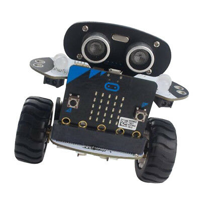 Coding Balancing RC Robot Car DIY Kit Microbit Infrared Obstacle Avoidance