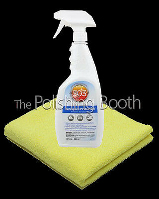 303 Aerospace Protectant 32oz Rubber and Plastic UV protector NEW + Microfibre