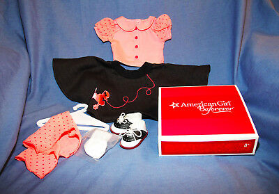 American Girl Doll Maryellen's Poodle Skirt Outfit NEW NIB