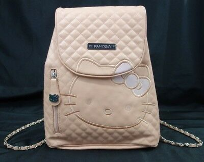 Hello Kitty Backpack 2012 Pink Quilted Sanrio Flap High Quality Book Bag Purse