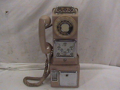 Vintage Pay Telephone Real Coin Opp Phone Pay Phone Rotary