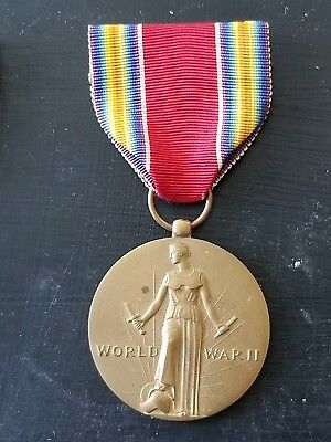 WWII US Army Navy Marine Victory Medal