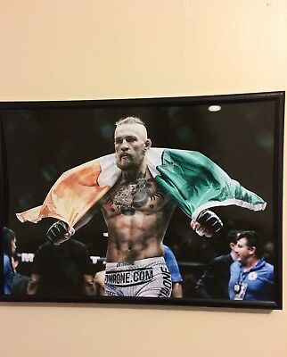 Conor McGregor  UFC/FIGHT/BOXING FRAMED A4 260gsm