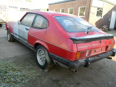 Ford Capri 2.8i Injection Winter Project