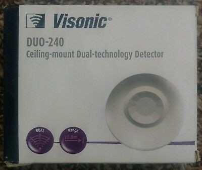 Visonic DUO-240 Ceiling-mount Dual-technology Detector