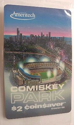 Comiskey Park Chicago Phone Card issued 1994 by Ameritech              (PP)