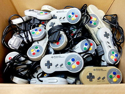 Untested As is Official Super Famicom SNES Controller Game Pad NINTENDO [USA]Oa6