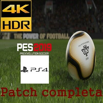 Patch Pes 2019 Ps4 Option File 100% Completa