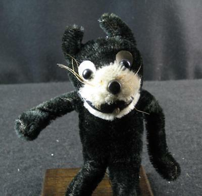 Vintage Felix The Cat Mohair Wire frame figure (pre 1920s) Extremely Rare!