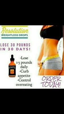 Iaso RESOLUTION Diet Drops -TLC Weight Loss Energy New Year SALE!