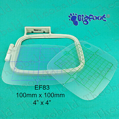 100mm x 100mm EMBROIDERY HOOP/FRAME FITS BROTHER INNOVIS 700e,750e,770,1200,1250