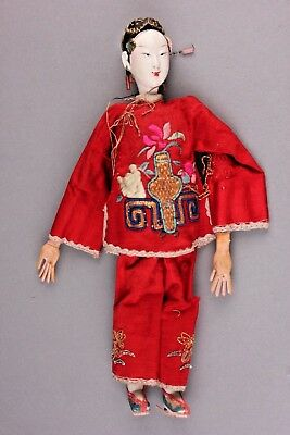 "Exquisite Chinese Female Opera Doll, 10"", ca. Late 1800s-1920"