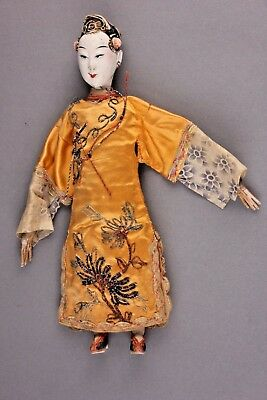 "Antique Chinese Opera Doll, 9 - 1/2"", ca. late 1800s ~ 1920"