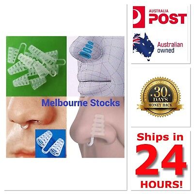 ANTI SNORING Nose Clip Sleep Sleeping Aid Stop Snore New