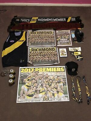 Richmond Tigers Memorabilia Package Afl