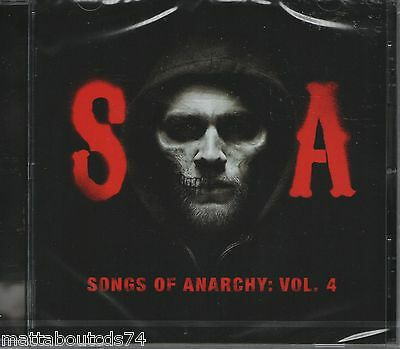Songs Of Anarchy - Music From Sons Of Anarchy: Volume 4    *new 2015 Cd Album*