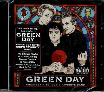Green Day - Greatest Hits: God's Favorite Band   *new & Sealed 2017 Cd Album*