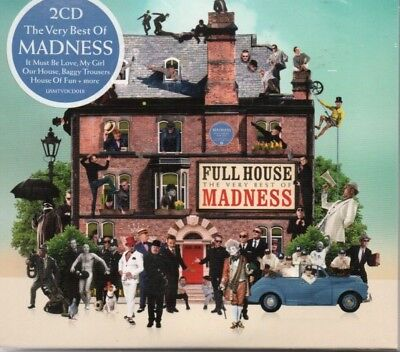 Madness - Full House/the Very Best Of...     *new & Sealed 2 Disc Cd Album*